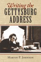 Making of the Gettysburg Address cover art