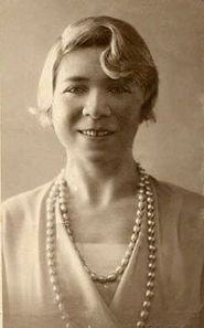 portrait of Alfonsina Storni