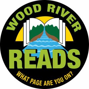 Wood River Reads logo-What Page Are You On?